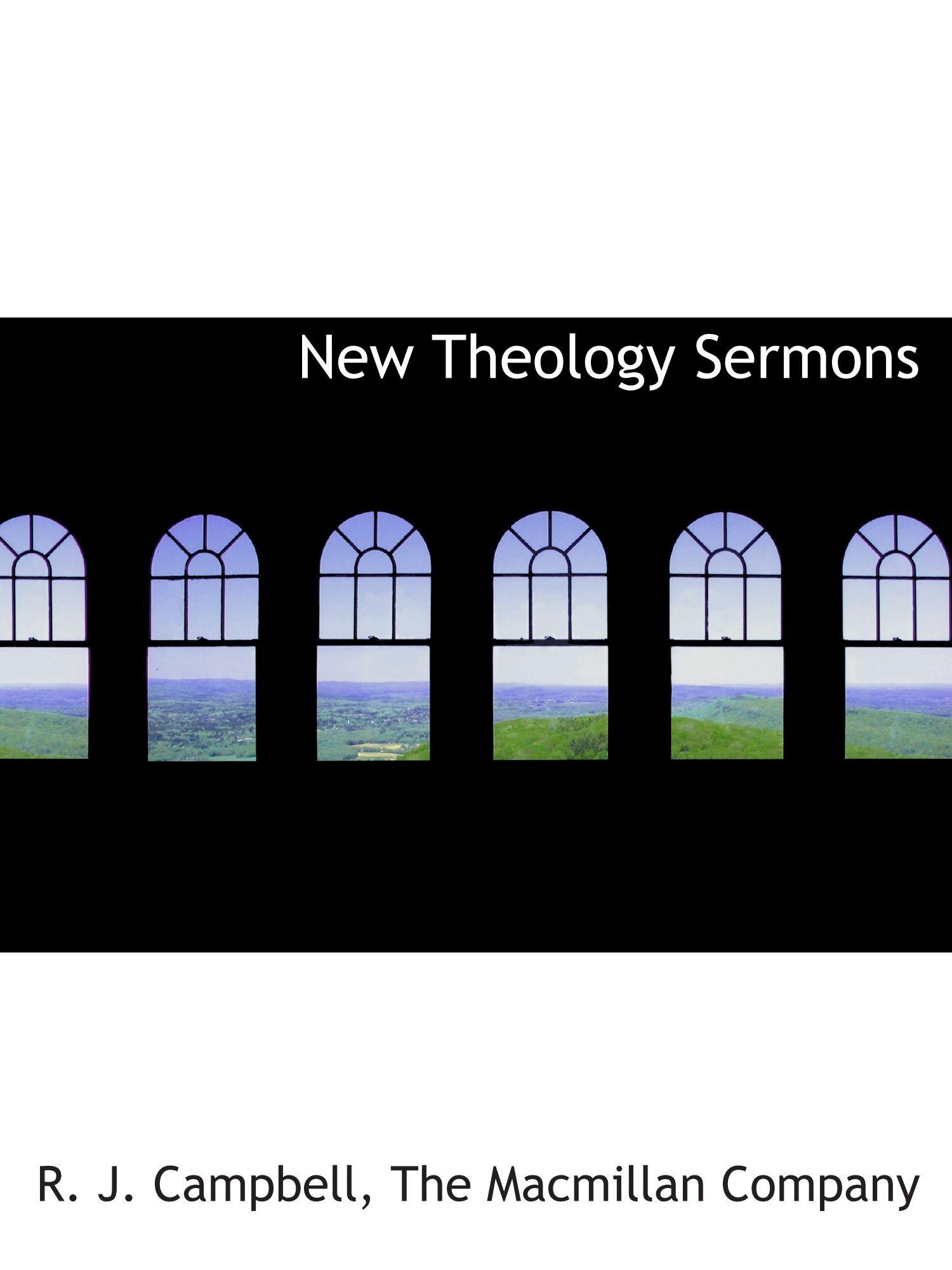 Read Online New Theology Sermons PDF