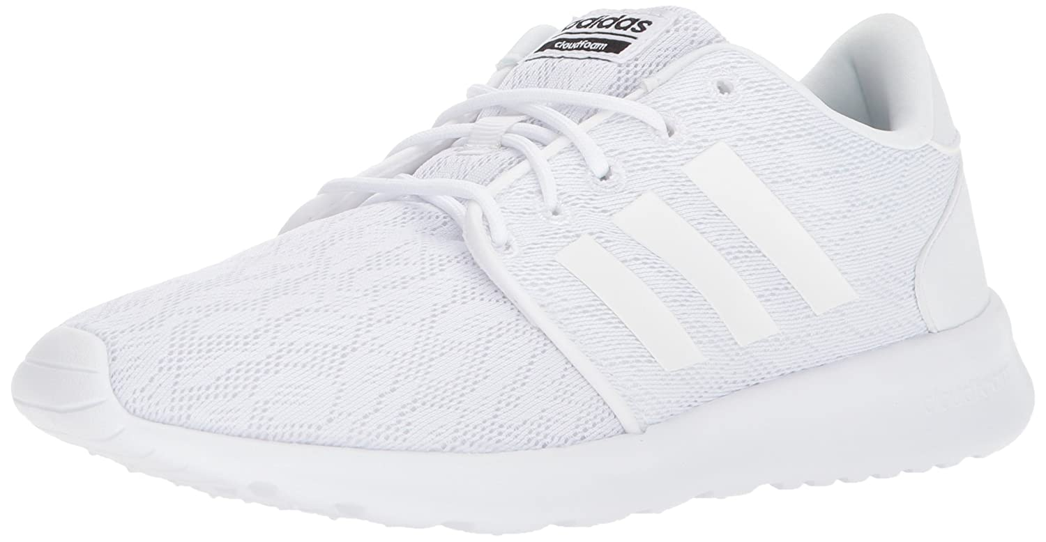 Frost White, Frost White, Core Black Adidas Women's Cf Qt Racer W