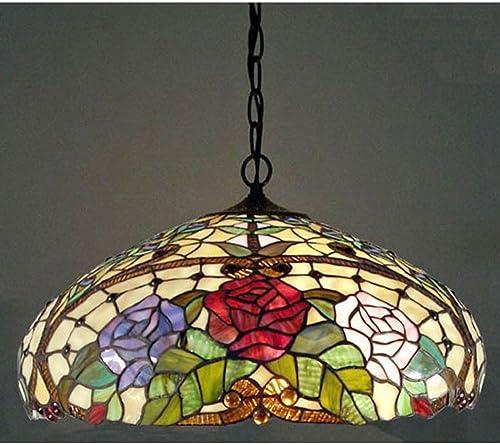 Warehouse of Tiffany WOT-1299 Rose Pendant