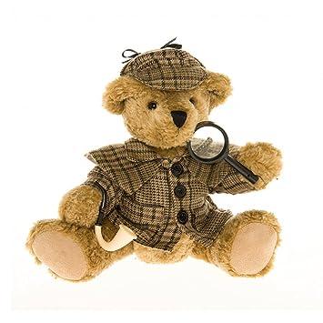 Bear Plush Sherlock Holmes - The Great British Teddy Bear Company ...