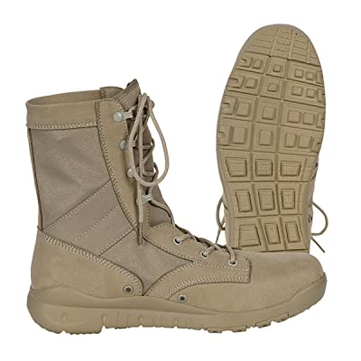 VOODOO TACTICAL 04-8478 Voodoo Jungle Boot, Desert Tan: Sports & Outdoors