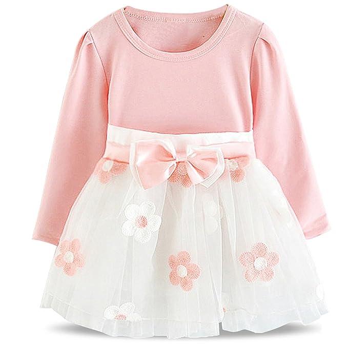86884263bdcc Huainsta Newborn Baby Girl 1 Year Birthday Dress Petals Tulle Toddler Girl  Christening Dress Infant Princess