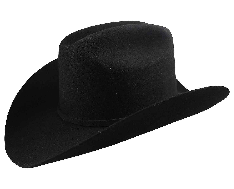 8d173e9d467 El General Men s Cowboy Hat Texana 100X Horma Julion Color Black Wool at  Amazon Men s Clothing store