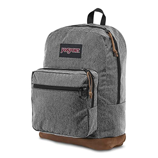 85029e018 Amazon.com: Jansport - Right Pack Digital Edition Student/Laptop Backpack,  One Size, BLACK WHITE HERRINGBONE: JanSport: Sports & Outdoors