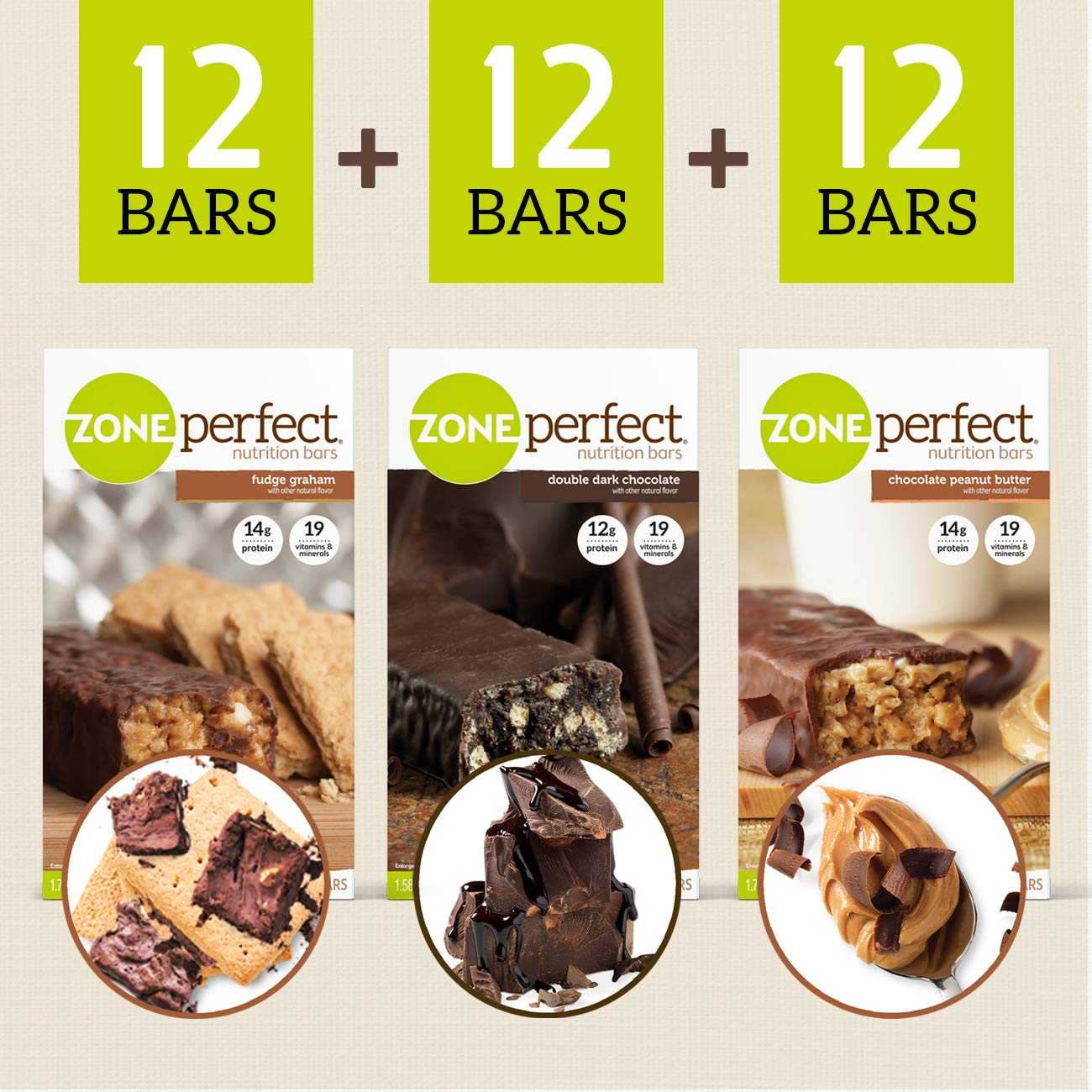 ZonePerfect Nutrition Snack Bars, Variety Pack, (36 Count) by Zoneperfect Classic (Image #8)