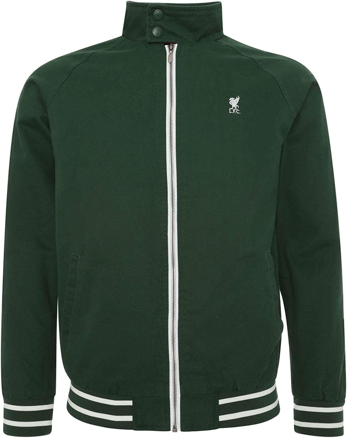 Liverpool FC Veste Harrington Verte Homme LFC Officiel