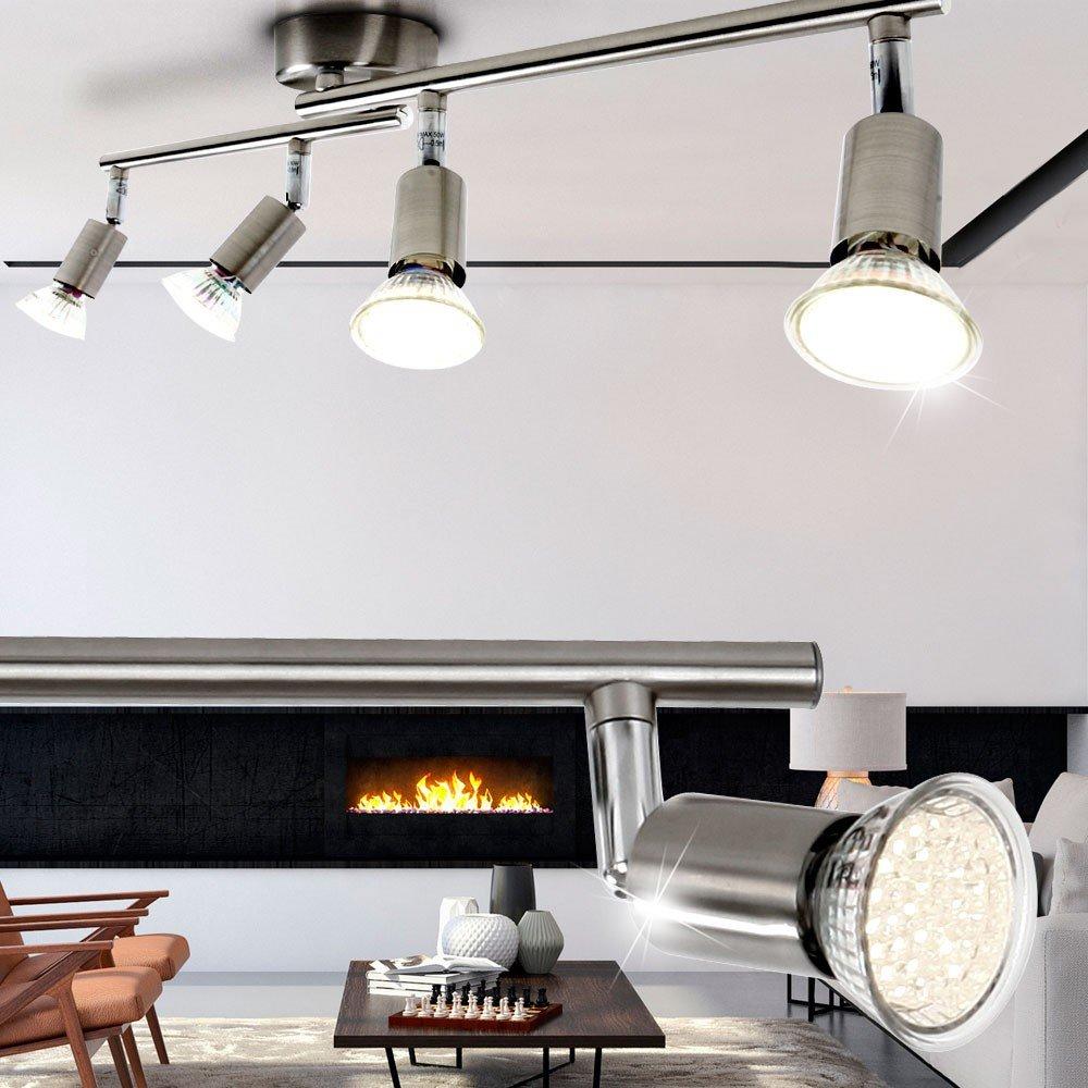 12W LED A+ Leuchte Flur Decken Balken Bad Wand Strahler Küchen 60cm ...