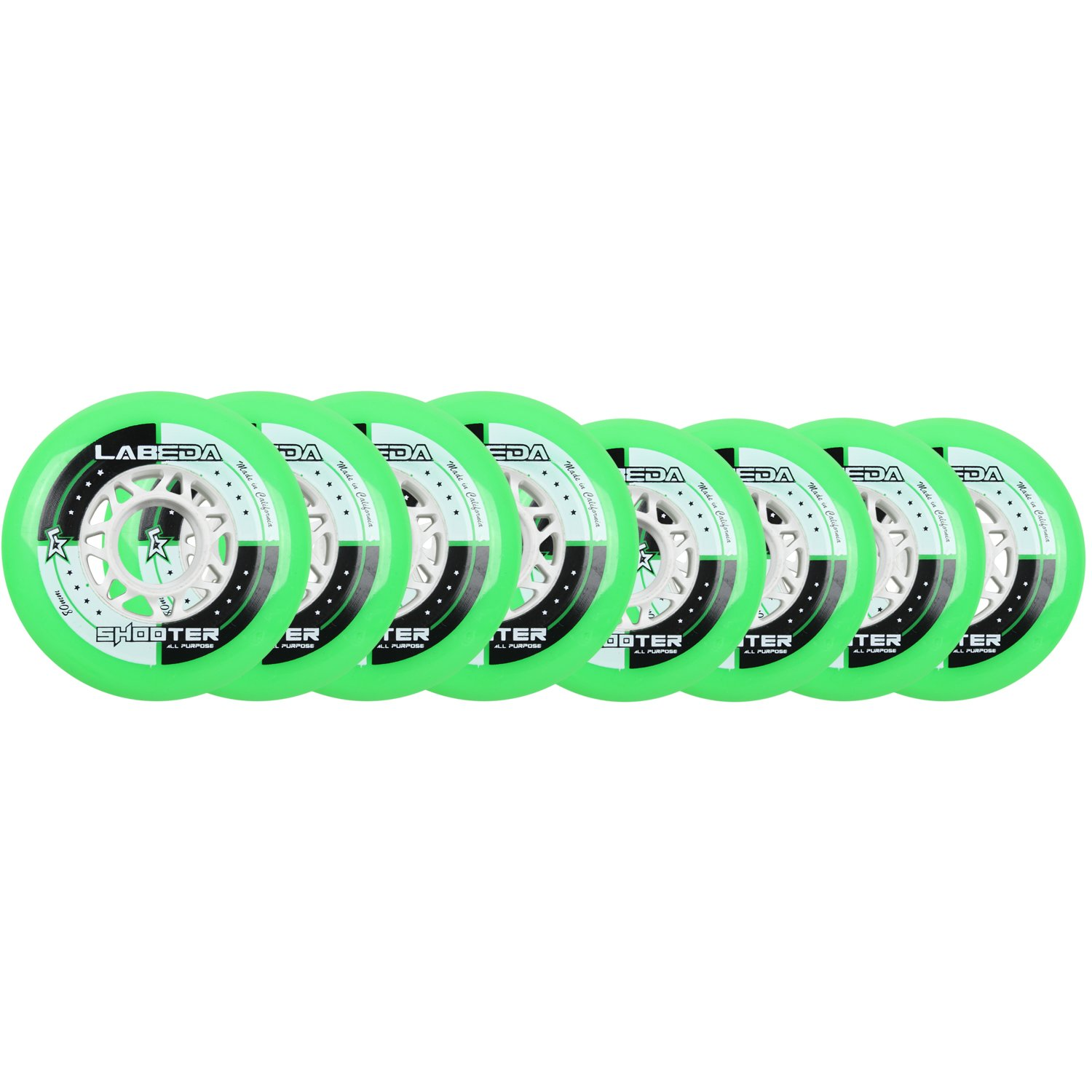 Labeda Wheels Inline Roller Hockey Shooter 72/80 Hilo by Labeda
