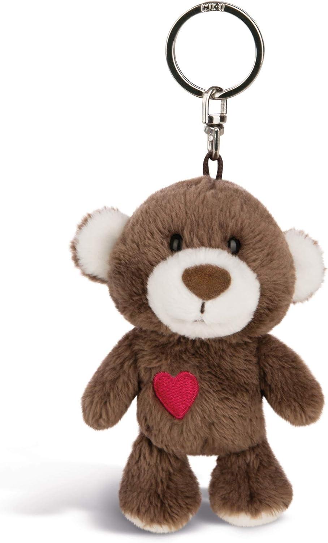 Nici Schlüsselanhänger Love Bär Junge 10 Cm Teddybär Kuscheltieranhänger Mit Schlüsselring Für Schlüsselband Schlüsselbund Schlüsselhalter Schlüsselkette Taschenanhänger 44421 Spielzeug