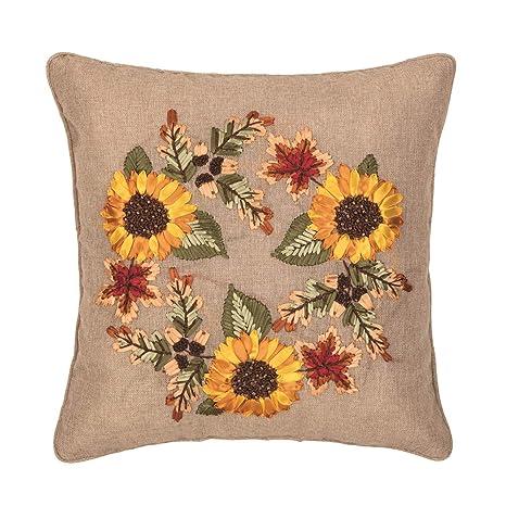 Amazon.com: CFF - Almohada para cosecha, diseño de corona de ...