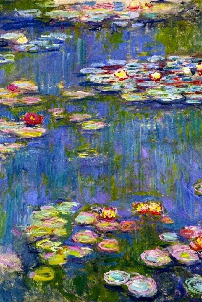 Claude Monet Water Lilies Cool Wall Decor Art Print Poster 24x36