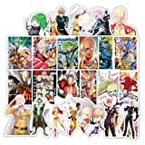 DOFE Attack On Titan Stickers 39 PCS,One Punch Man