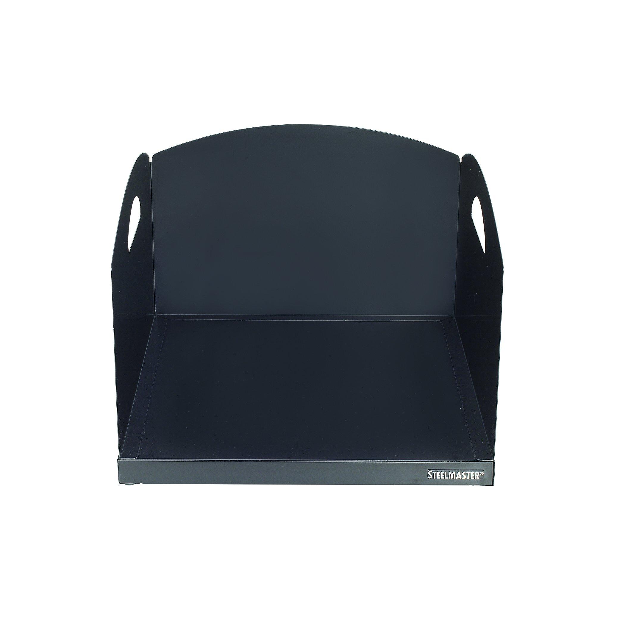 STEELMASTER Big Stacker Extra Deep Inbox, 8.25'' x 12.75'' x 11.125'', Black (264001H04)