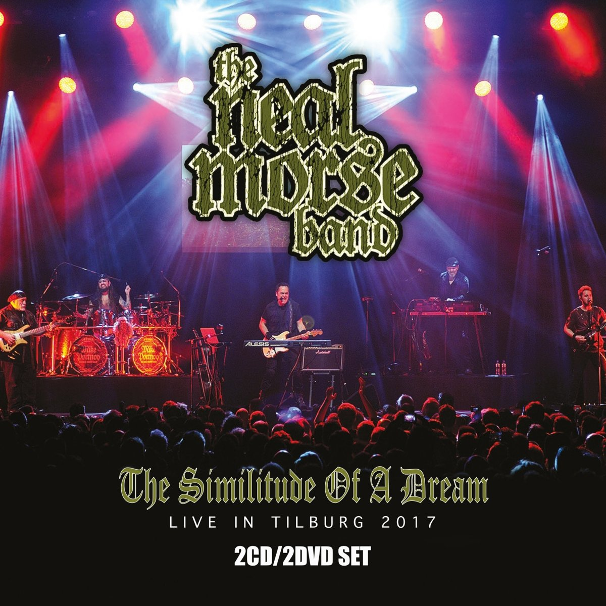 DVD : THE NEAL MORSE BAND - Similitude Of A Dream Live In Tilburg 2017 (3PC)