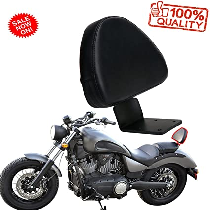 Amazon.com: Motorcycle Rear backrest sissy bar for 2003-2013 victory ...