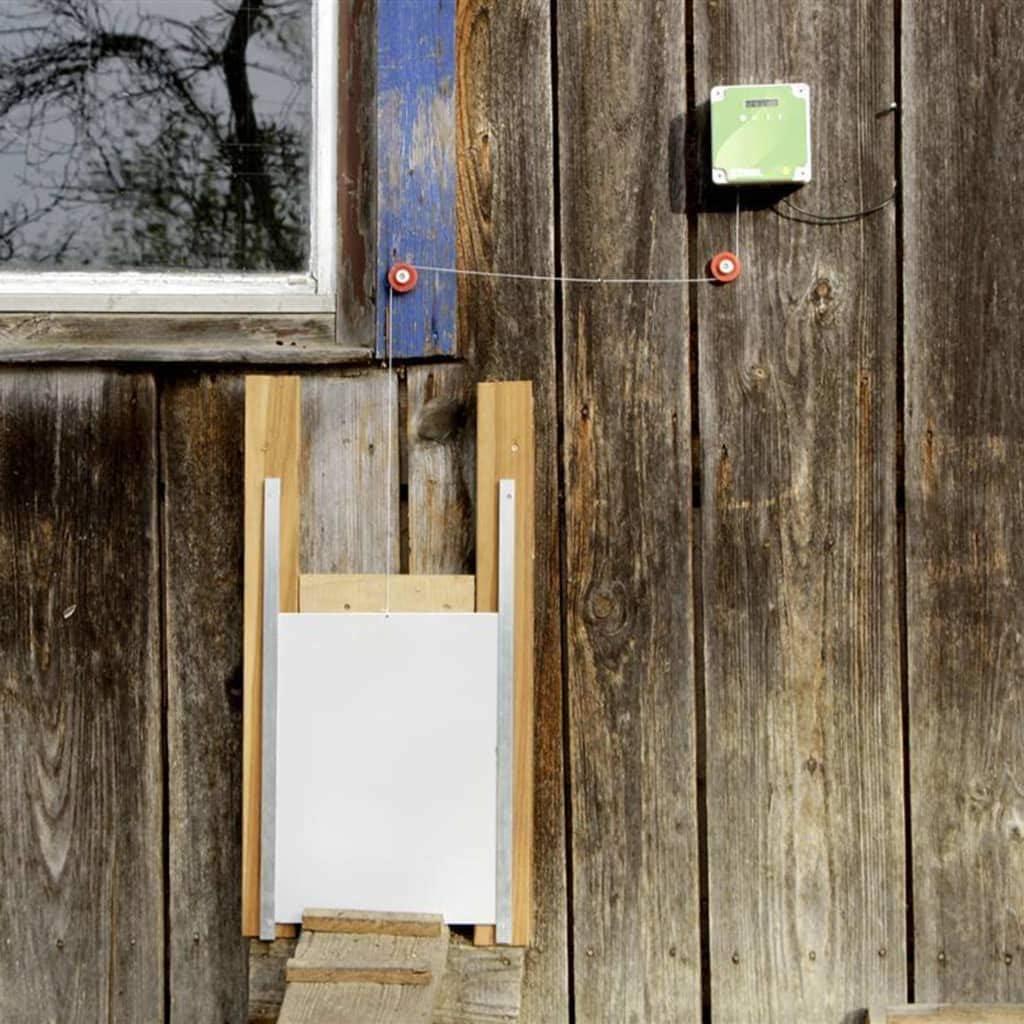 Kerbl - Puerta corredera automática de gallinero (220 x 330 mm): Amazon.es: Hogar