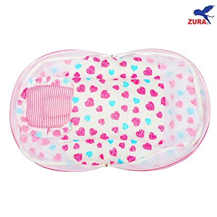 b18656ed2 Buy Zura s Baby bed   Baby bedding Set with Mosquito Net Bed for New Born  Babies Online at Low Prices in India - Amazon.in