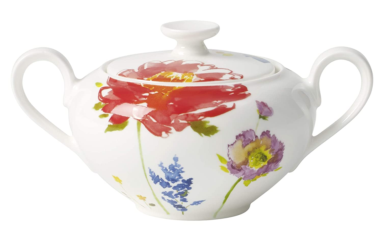 Villeroy & Boch Anmut Flowers Covered Sugar 1044440960
