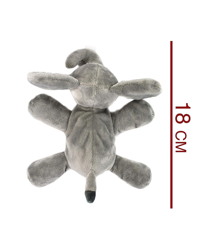 Amazon.com: KINREX Elefante Peluche Animal Bebé Chupete ...