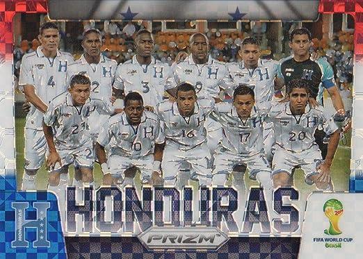 2014 Panini Prizm World Cup Team fotos #19 Tarjeta de Fútbol de Honduras