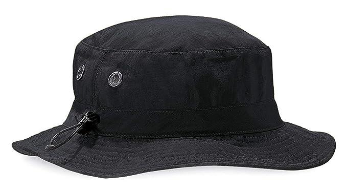 40330ba88 Beechfield B88 Cargo Bucket Hat - - Black - One Size: Amazon.co.uk ...