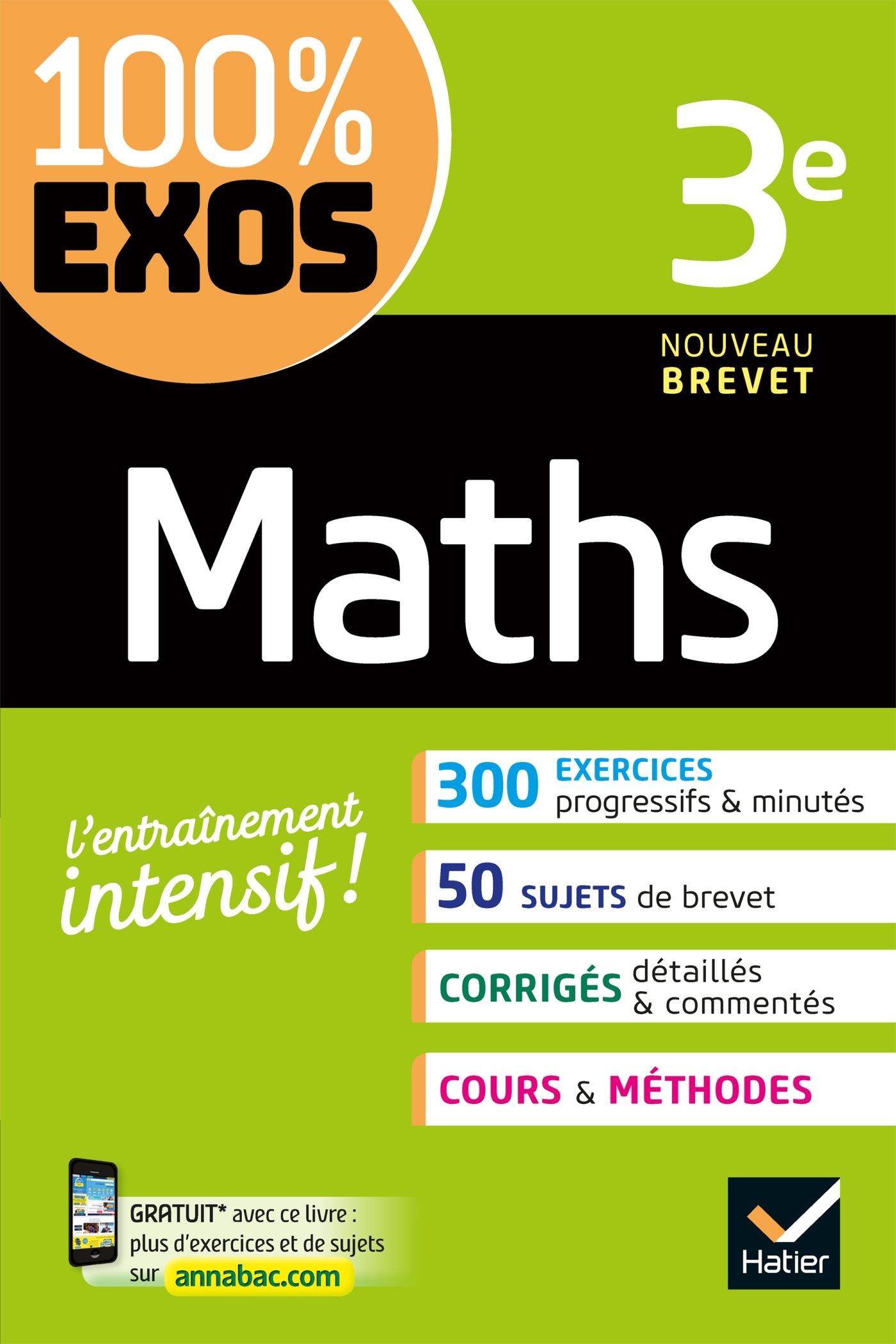 Amazon Fr Maths 3e Exercices Resolus Dhondt Dorothee Larrouturou Florence Larrouturou Pierre Schavsinski Matthieu Livres