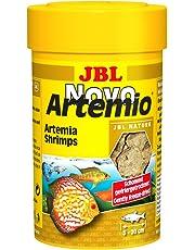 JBL Complemento alimenticio NovoArtemio, para Todos los Peces de acuarios, Compuesto de cangrejos de