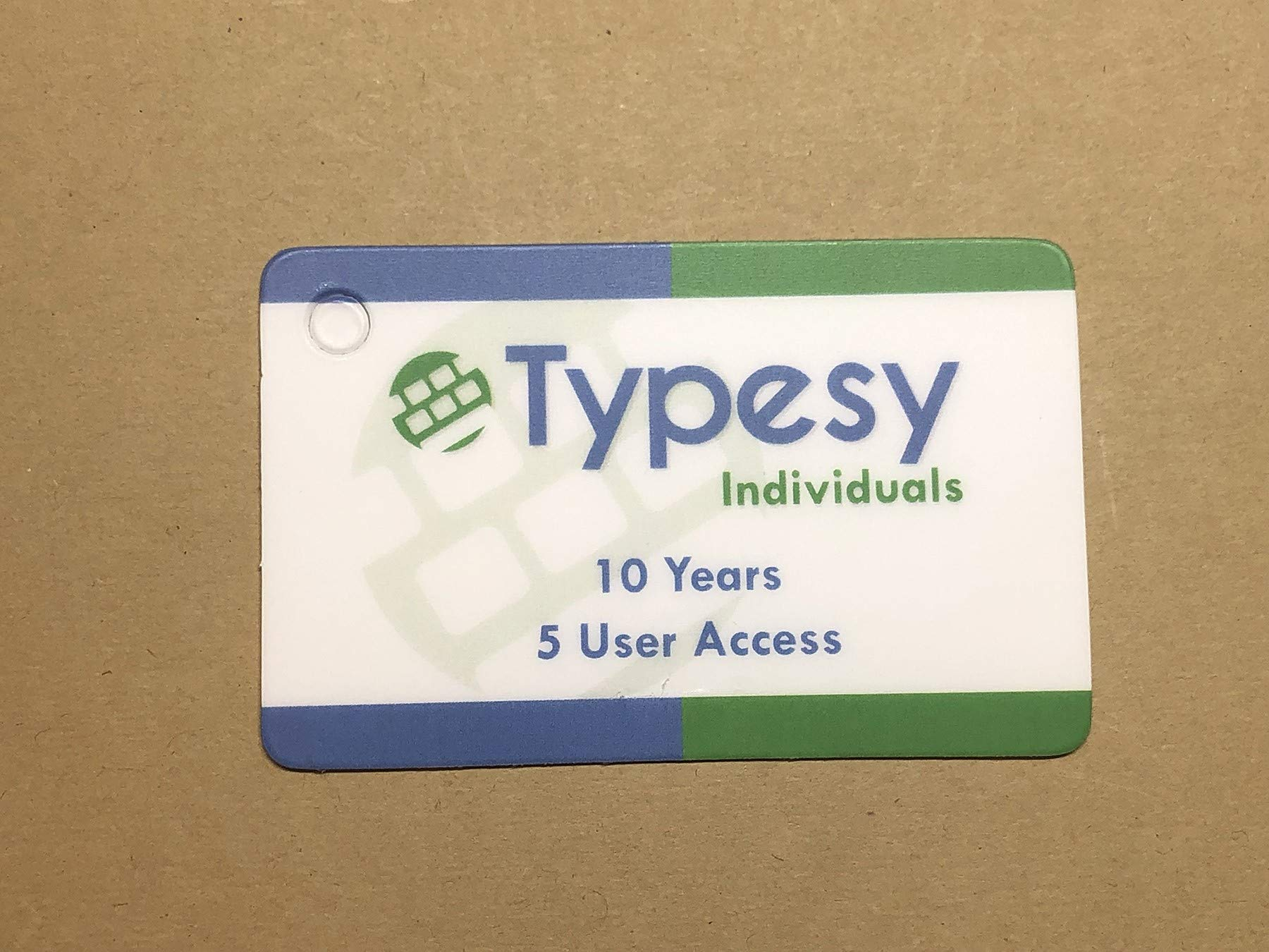 Typesy for Individuals (Amazon Exclusive Key Card) by Typesy