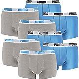 PUMA Basic Lot de 6 Boxers Boxer Pantalon Top, Courtes