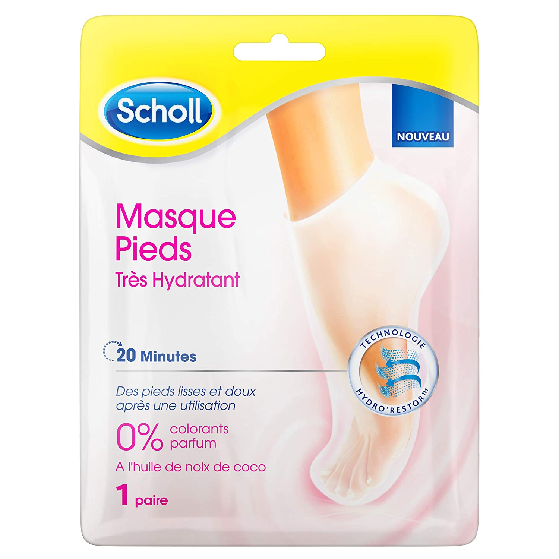 Scholl - Masque Pieds Très Hydratant - Lot de 3