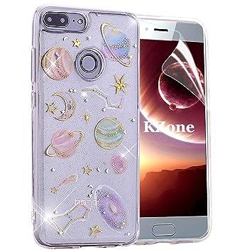 OKZone Funda Huawei Honor 9 Lite, [Serie Cielo Estrellado] Cárcasa ...