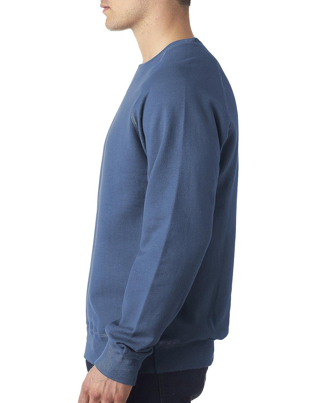 Hanes Men/â/€s Nano Premium Lightweight Crewneck Sweatshirt