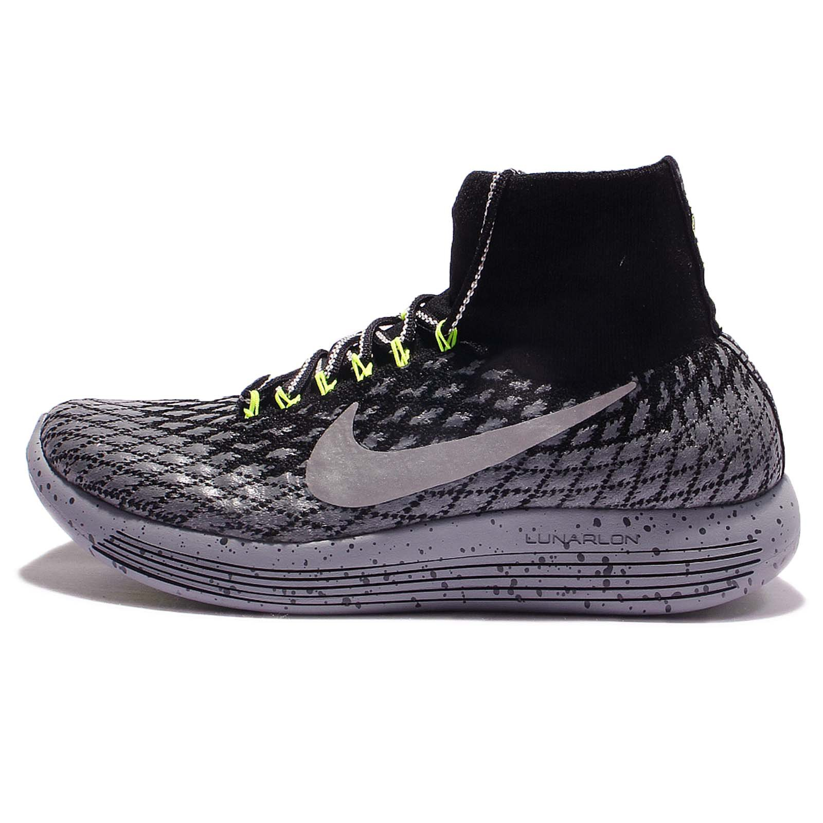 buy popular e2edd 399aa Galleon - Nike Womens Lunarepic Flyknit Shield Running Trainers 849665  Sneakers Shoes (UK 6.5 US 9 EU 40.5, Black Metallic Silver 001)