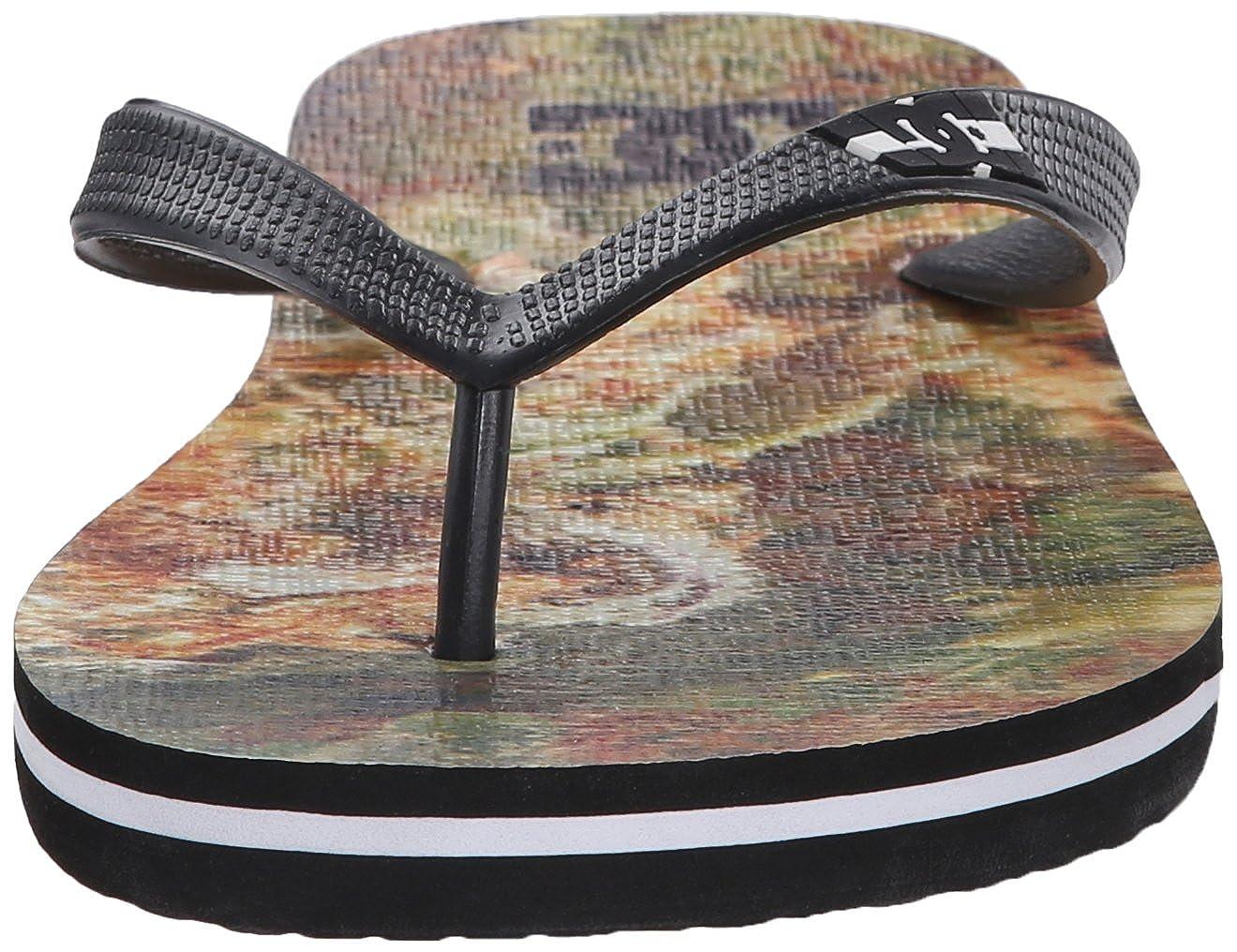 08b834f66f7ae Amazon.com  DC Men s Spray Graffik Flip-Flop Sandal  Dc  Shoes