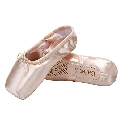 Wendy Wu Girls Womens Dance Shoe Pink Ballet Pointe Shoes (1 99f5353df