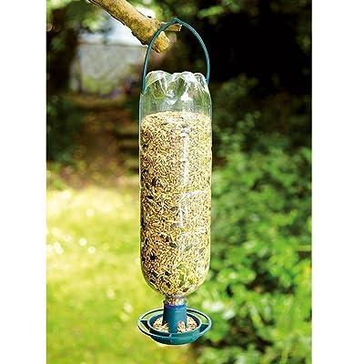 Generic.. pour oiseaux KI 4x Bouteille Top Top Mangeoire à suspendre kit Eder kit kit de recyclage de boisson à suspendre Bird Eders bouteilles dans mangeoires..