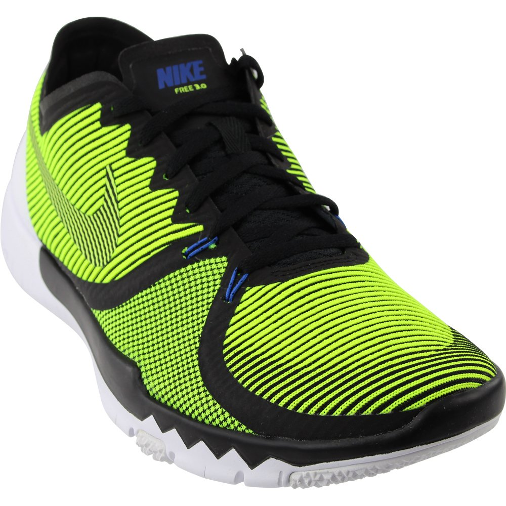 best loved 0cd31 b0017 Nike Mens Free Trainer 3.0 V4, BLACK/VOLT-CACTUS-WHITE, 10.5 M US