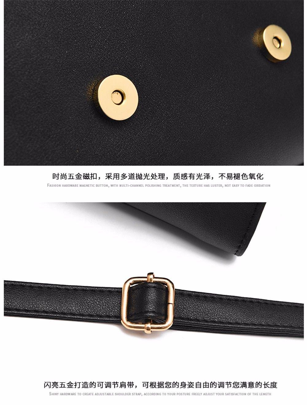 ERSANWU Neue einzelne Schulter Messenger Bag Handtasche Mode Handtasche