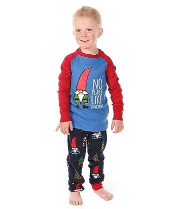 c70935cafe No Place Like Gnome Kids Long Sleeve Pajama Sets by LazyOne