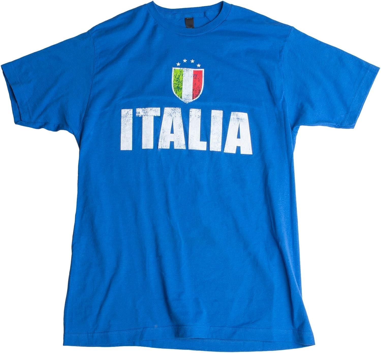 Italia | Italy Azzurri Futbol (Italian National Soccer) Vintage-Look T-Shirt