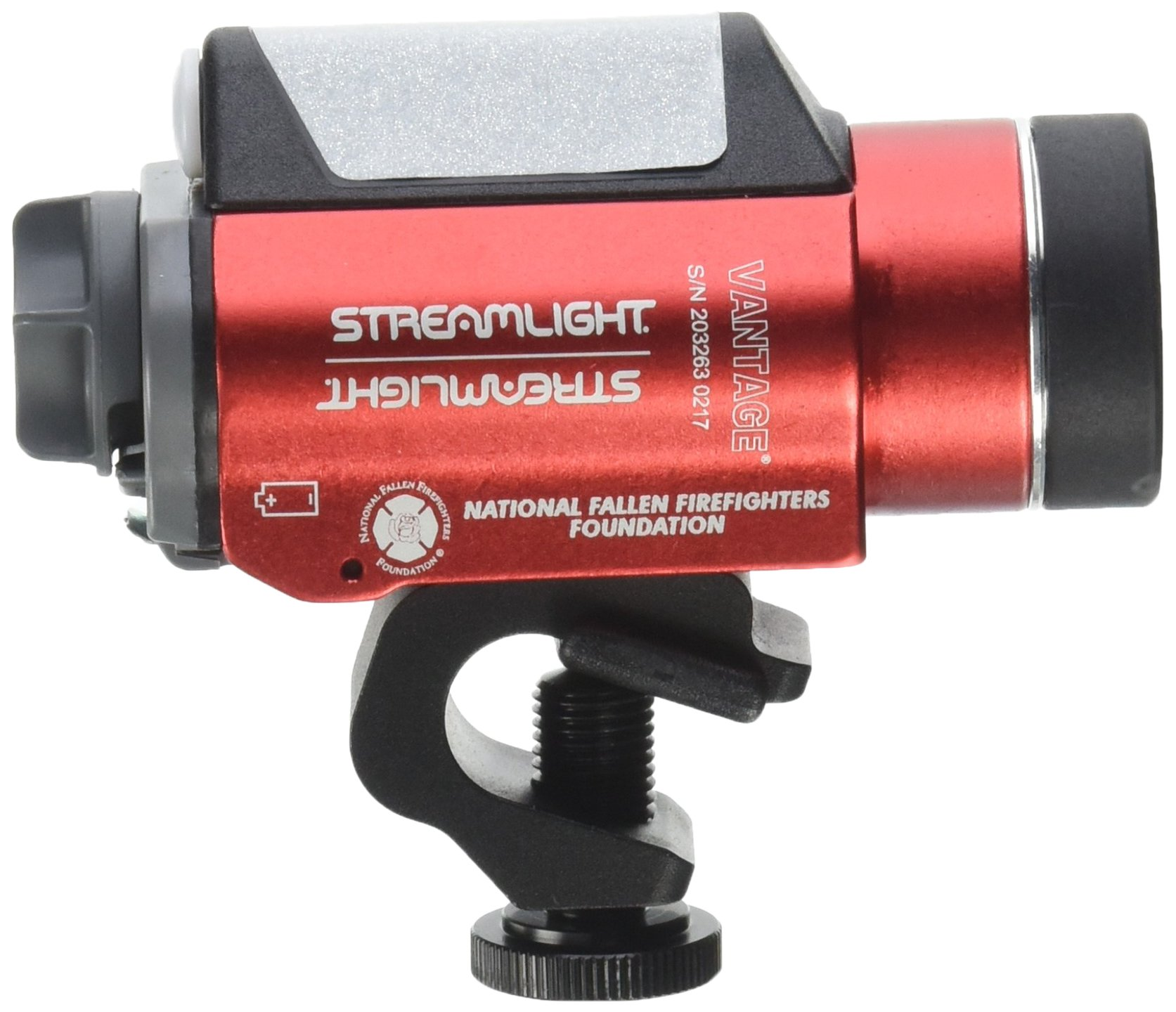 Streamlight 69157 Vantage Tactical Helmet Light with White LED, Red