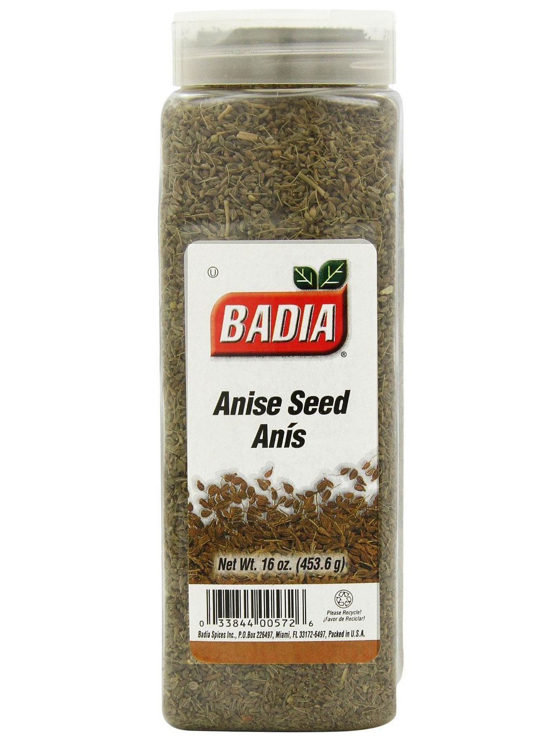 Badia Whole Anise Seed, 16-Ounce (Pack of 6)