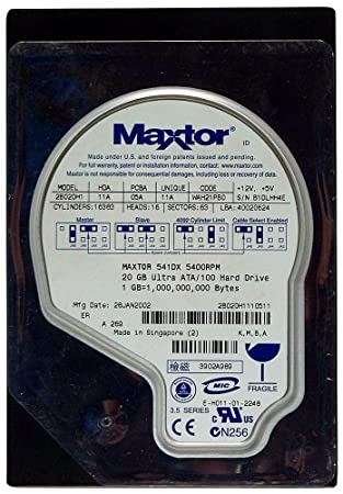 2B020H1 MAXTOR DRIVERS FOR WINDOWS MAC