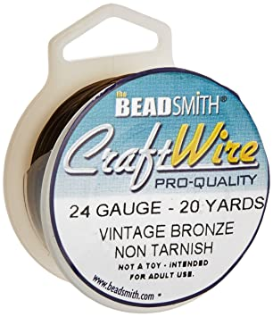 Artistic Wire 24 Gauge Antik Vintage Bronze Messing Farbe Kupfer ...