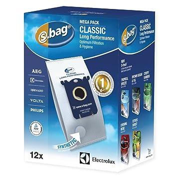 482536badaf Electrolux S-bag Classic Long Performance Megapack E 201 M Vacuum Cleaner  Bags