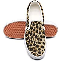 Snow Leopard 1-01 Classic Canvas shoes Slip On Skate Sneakers women Fashion Print cool Durable shoe
