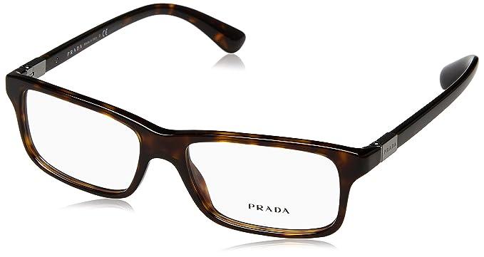 e7f0017eb2c00 Prada Montures de lunettes Pour Homme 06S V - 2AU-1O1  Tortoise ...
