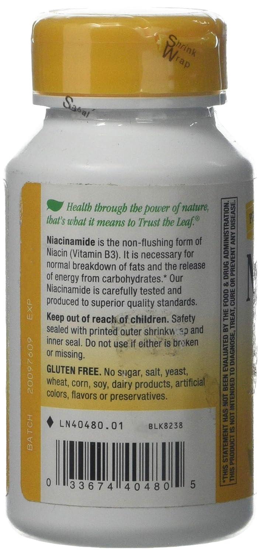 Natures WayWay, Niacinamide, 500 Mg, 100 Capsules: Amazon.es: Salud y cuidado personal