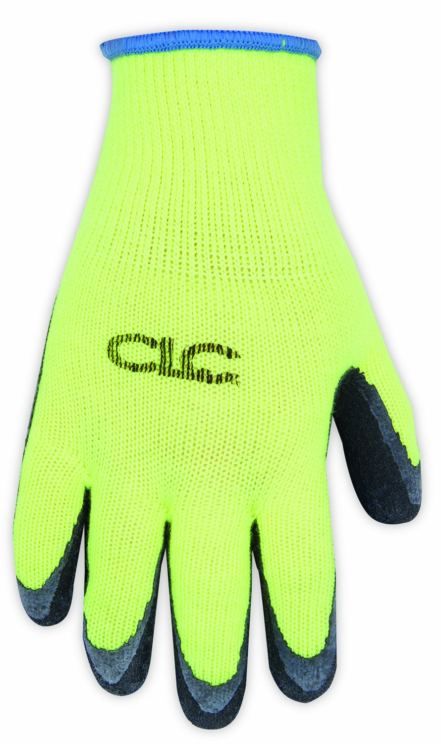 CLC Custom Leathercraft 2339X Hi-Viz Cold Weather Latex Gripper Gloves XL