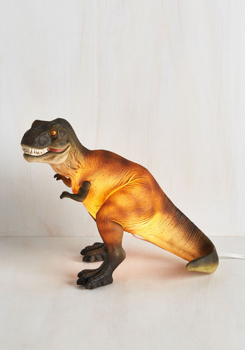 Sight for Saur Eyes Lamp in T-Rex | Mod Retro Vintage Decor Accessories | ModCloth.com